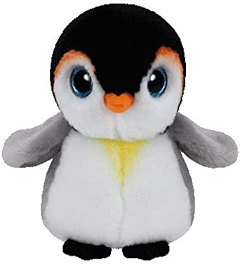 TY Bebé Pingüino Joven Blanco Pongo de peluche, 15cm