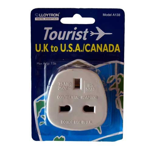 US and Canadian Travel Adaptor