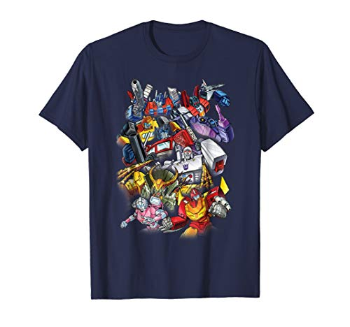 Transformers Multiple Robot Action Scene Graphic