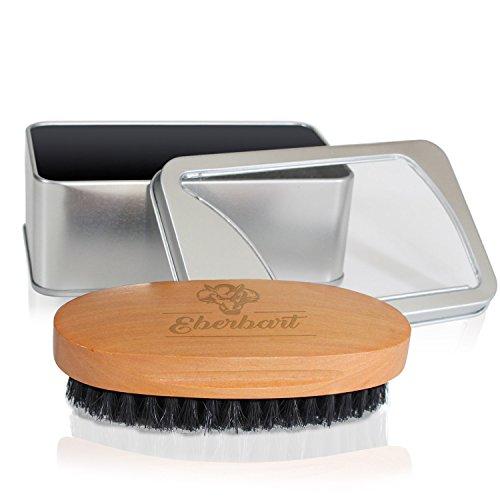 Eberbart Bartbürste mit Wildschweinborsten - Ideal für die tägliche Bartpflege