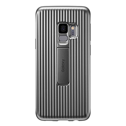 Galaxy S9 (5.8インチ)用 Protective Standing Cover 【Galaxy純正 国内正規品】 シルバー EF-RG960CSEGJP
