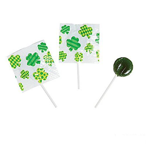 St. Patrick's Day Printed Suckers - Bulk 55 Piece