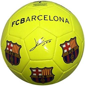 FC Barcelona – gran de balón de fútbol de color amarillo ...