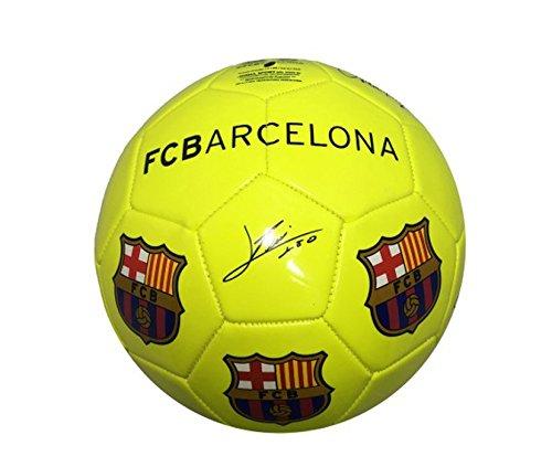 FC Barcelona - gran de balón de fútbol de color amarillo ...