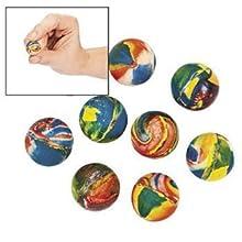 Fun Express Swirl Bouncing Balls (12 Dozen)