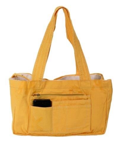 al amarillo cm B Duck 30x18x10 amarillo para Bolso gelb gelb H Yellow Mandarina Yellow hombro mujer T xEq4p6UUw
