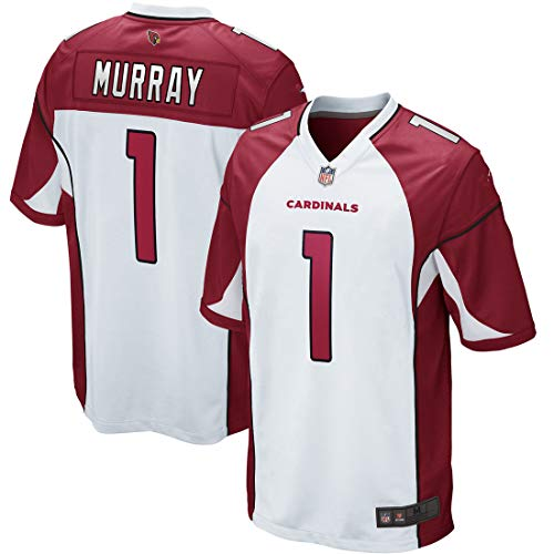 Outerstuff Youth Kids Arizona Cardinals 1 Kyler Murray 2019 Draft First Round Football Jersey (YTH 8 S, White)      ()