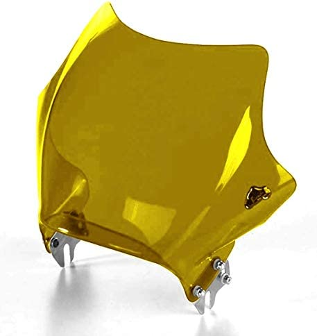 Biondi Universal Windschutzscheibe Für Motorrad Naked Gelb Auto
