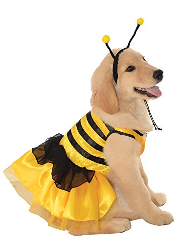 Large - Cat & Dog Costume Baby Bumblebee Large -