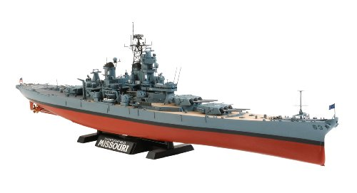 Tamiya Models USS Missouri BB-63 Circa 1991 Model Kit (Uss Missouri Bb)