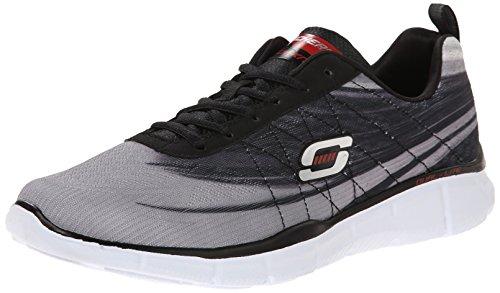 Split Grau Schwarz Skechers up Equalizer Schuhe Übergrößen in Sneaker Herren Xqv5wH