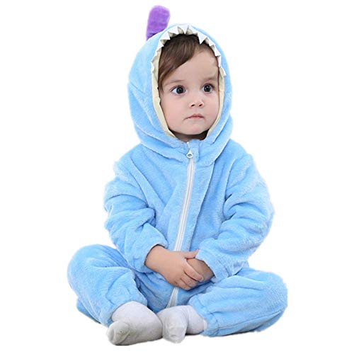 Baby Sweet Haute (Baby Boy Girls Romper Winter Autumn Flannel Jumpsuit Monster Cosplay Outfits)