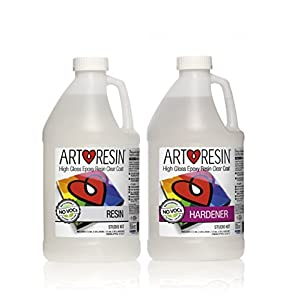 Clear Non-toxic ArtResin® Epoxy Resin Studio Kit