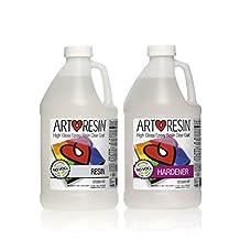 Clear Non-toxic ArtResin® Epoxy Resin Studio Kit - 3.78 L