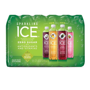 Sparkling Ice Fruit Blasters Variety Pack 17 oz, 24 pk. A1