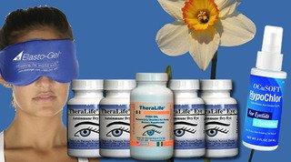 All-in-one Sjogrens Dry Eye Starter Kit by Theralife Eye Autoimmune