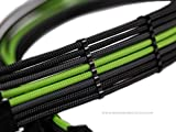 18pcs kit - (x4)24pin, (x6)8pin, (x4)6pin, (x4)4pin Premium Stealth Cable Comb set for up to 4mm Sleeved Cables - MAINFrame Customs