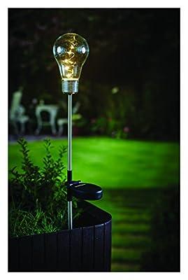Cole & Bright 6764 Edison Style Solar Stake LED Light Bulb