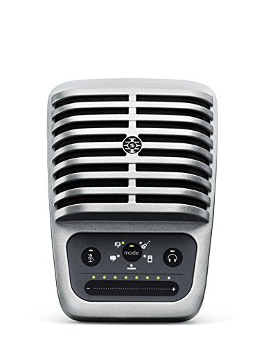 Shure MV51 Digital Large-Diaphragm Condenser Microphone + USB & Lightning Cable by Shure (Image #13)