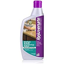 Rejuvenate Kitchen & Bathroom Countertop Polish – Brings Back Shine and Luster to All Kitchen and Bathroom Countertops in One Easy Application – 16 Ounce