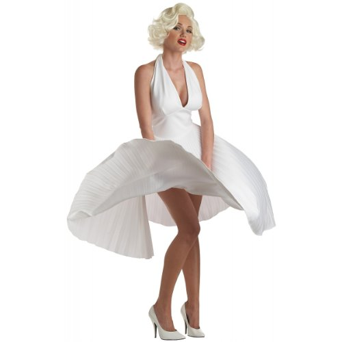 Deluxe Marilyn Monroe Costume Medium product image