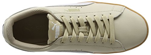 Sneakers Puma safari White Platform Femme Basses Beige L Vikky CCqwt6