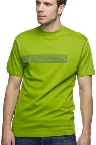 Dare 2b Eye Test para hombre EMOCIÓN Impresión Camiseta de algodón, hombre, color Kiwi (Thril), tamaño XL: Amazon.es: Deportes y aire libre