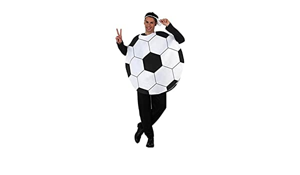 Disfraz de Balón de Fútbol para hombre talla M-L: Amazon.es ...