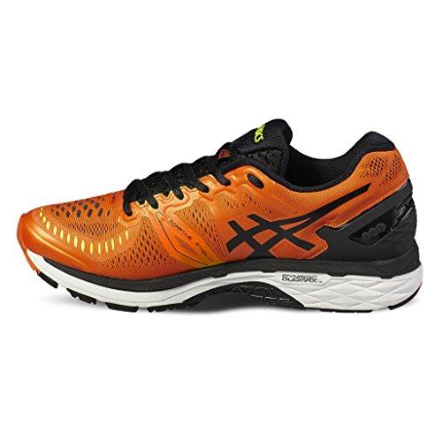 black Running Para Zapatillas Hombre Yellow Orange Flame kayano Asics De Gel 23 safety qRUBXHv