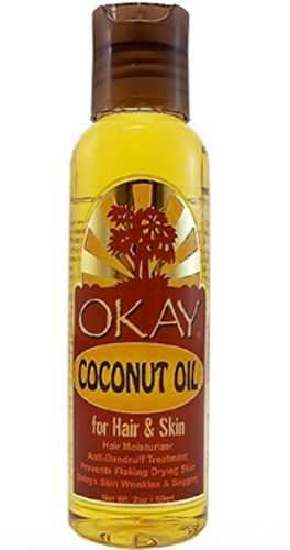 Okay Coconut Oil for Hair - Skin, 2 oz