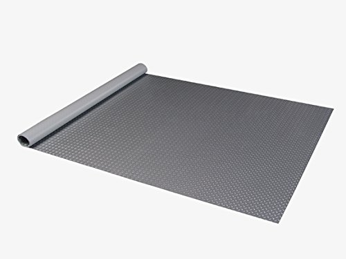 Auto Care Products 82714 Diamond Deck 7.5' x 14' Small Car Mat, Battleship Gray by Auto Care (Image #4)
