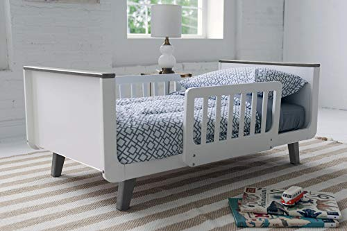 New Little Partners Mod Toddler Bed (Earl Grey-White)