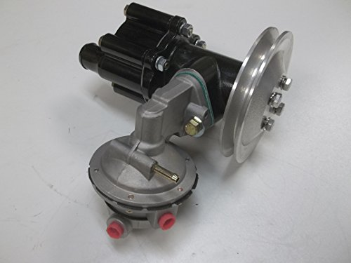 - B. New Belt Driven sea Water Pump with Fuel Pump for Mercruiser 454 and 502 Engines