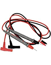 Digital Multimeter 1000V 10A Test Cord Cable Probe Digital Multimeter Test Lead Multimeter Probe Cable Wire Pen Replacement 2Pcs Car Battery Circuit Troubleshooting Durability and professional