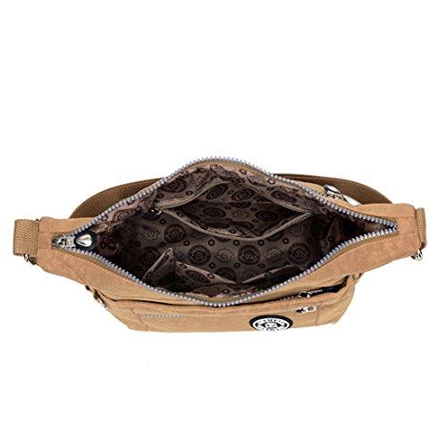 Bag Handbags Small Blue Purses amp; Nylon Lightweight Multi Cross Sky Shoulder Casual body Girls Pockets TianHengYi A1 Yq1APP