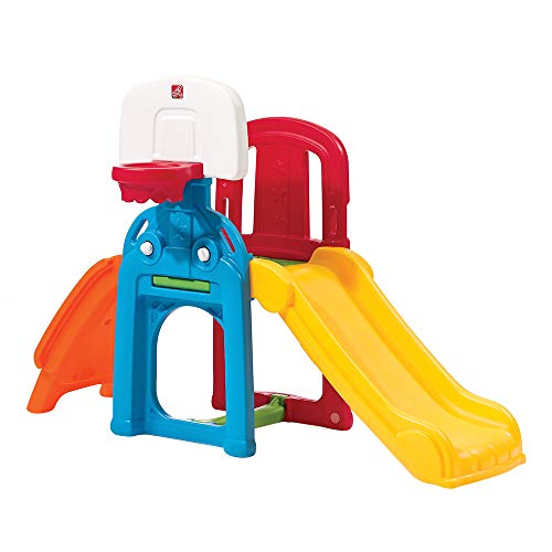 Step2 Game Time Sports Climber and Slide (Best Outdoor Playset For 2 Year Old)