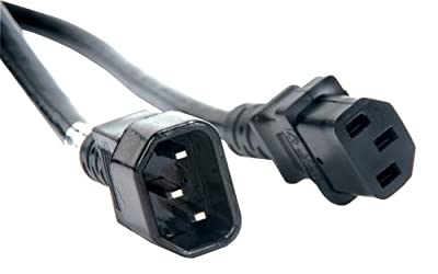 Accu-Cable Iec Male To Iec Female Power Link Cable (Eccom-3) 3Ft