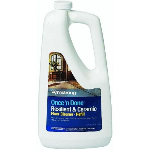 Floor Ceramic Cleaner (Armstrong Once'n Done Resilient and Ceramic Refill Ready to Use 64oz)