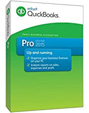 QuickBooks Pro Small Business Accounting Software 2015 (Old Version)