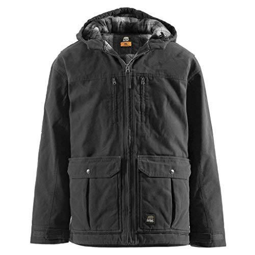 Berne Men's Concealed Carry Echo One Jacket, Black, ()