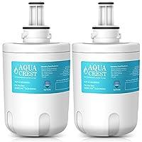 AQUACREST DA29-00003G Replacement Refrigerator Water Filter, Compatible with Samsung DA29-00003G, DA29-00003B, DA29-00003A, Aqua-Pure Plus, HAFCU1 (Pack of 2)