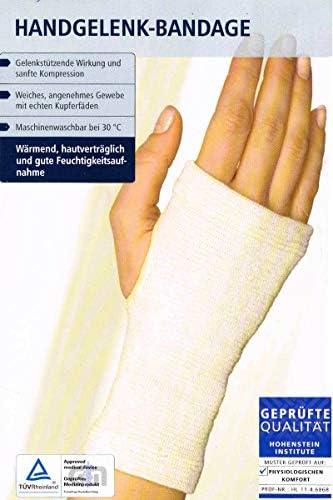 Sensiplast Handgelenk Bandage mit echten Kupferfäden S/M