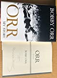 Bobby Orr signed Book Orr My Story 1st Printing
