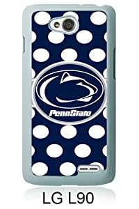 LG L90 case,Unique Design Ncaa Big Ten Conference Football Penn State Nittany Lions 13 White cell phone case for LG L90