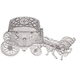 12 Cinderella Coach Wedding Carriage Favor Plastic - Clear