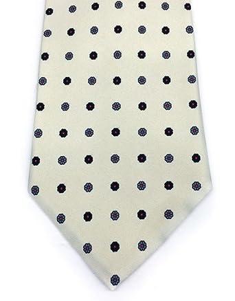 Real Luxury Napoli - Corbata de seda de 7 pliegues forrada, diseño ...
