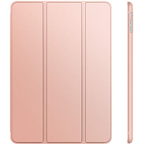 JETech Case for Apple iPad Mini 1 2 3 (NOT for iPad Mini 4) - Smart Cover with Auto Sleep Wake - Rose Gold