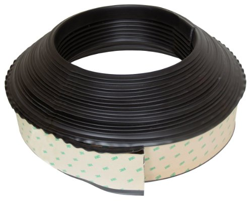 Pacer Performance 21-104 Black 3 3/4'' Wide Rail Guard 70' Roll by Pacer Performance