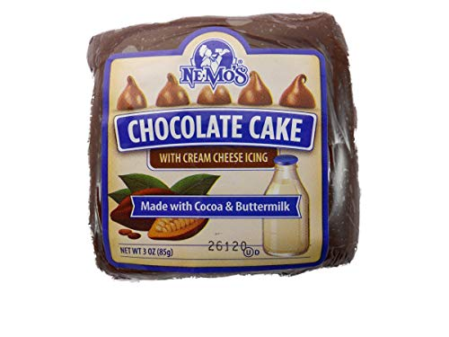 Ne Mos Chocolate Cake Square - 6 count per pack -- 6 packs per case. ()