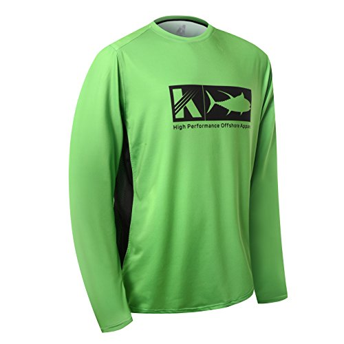 Performance Long Sleeve Shirt UPF 50 Mesh Quick Dry Fit Cooling Running Fishing Hiking UV Sun Protection Loose Fit